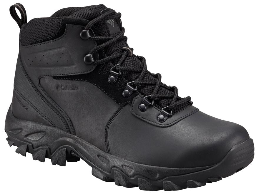 "Columbia Newton Ridge Plus II 5"" Waterproof Hiking Boots Leather Men's"