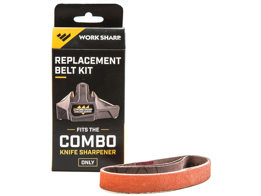 Work Sharp Combo Knife Sharpener Replacement Belt Kit