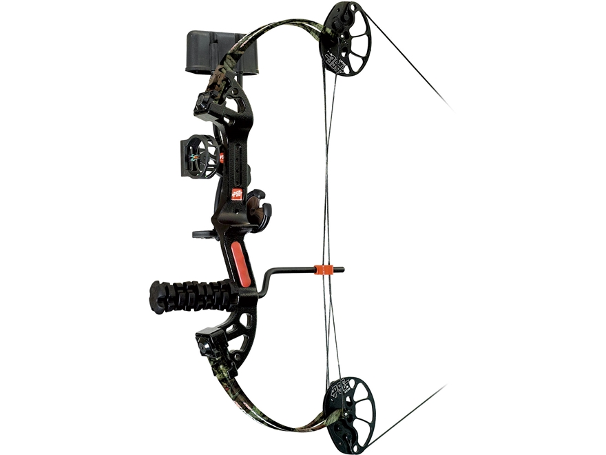 "PSE Mini Burner XT Compound Bow Package Right Hand 40-50 lb 11""-28"" Draw Length Mossy O..."