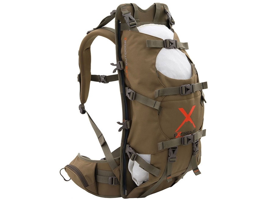 alps outdoorz commander x backpack frame coyote