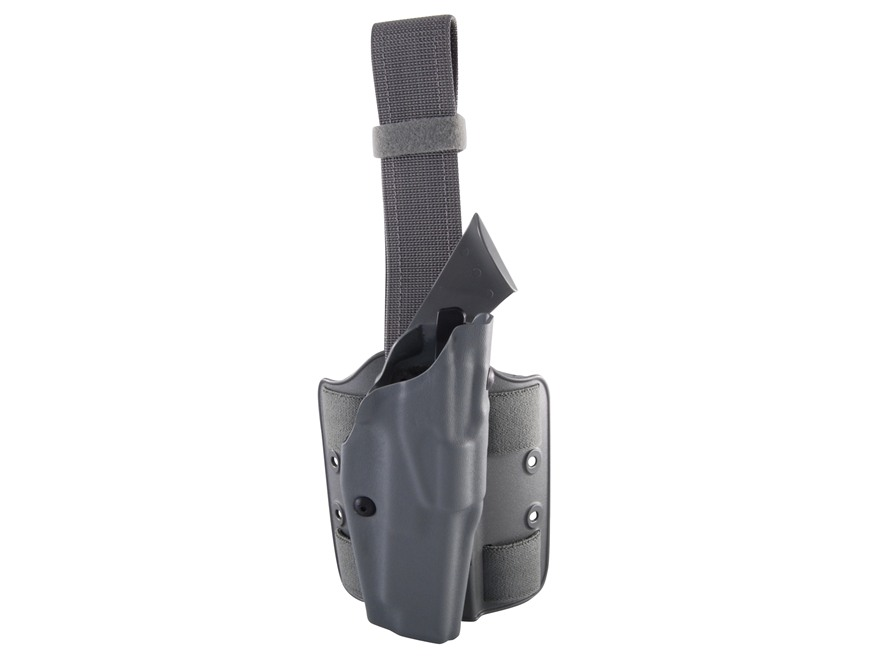 Safariland 6354 ALS Tactical Drop Leg Holster Right Hand Glock 34, 35 Polymer Foliage G...
