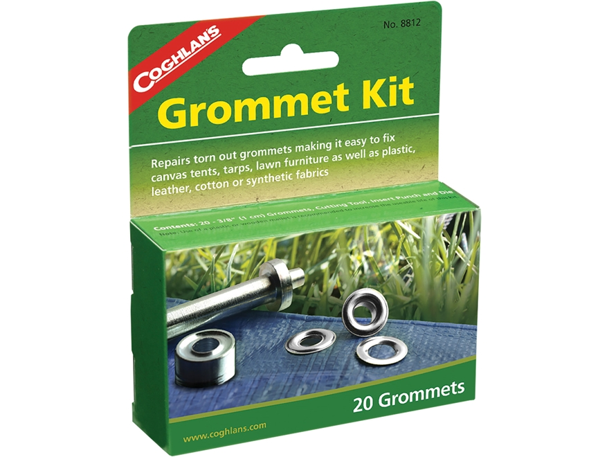 Coghlan's Grommet Kit Steel Pack of 20