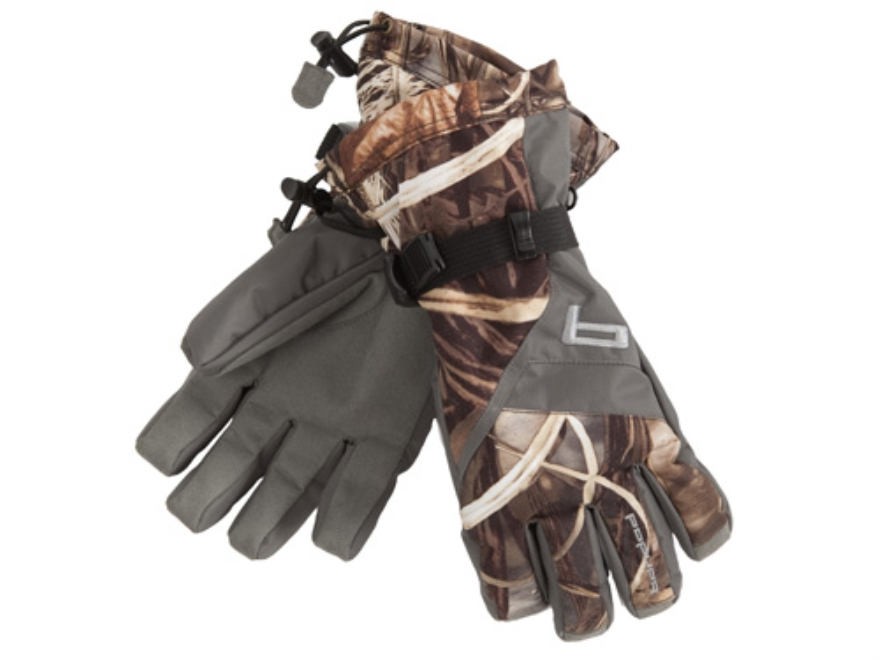 Banded Waterproof Insulated Gloves Polyester Realtree Max-4 Camo Large