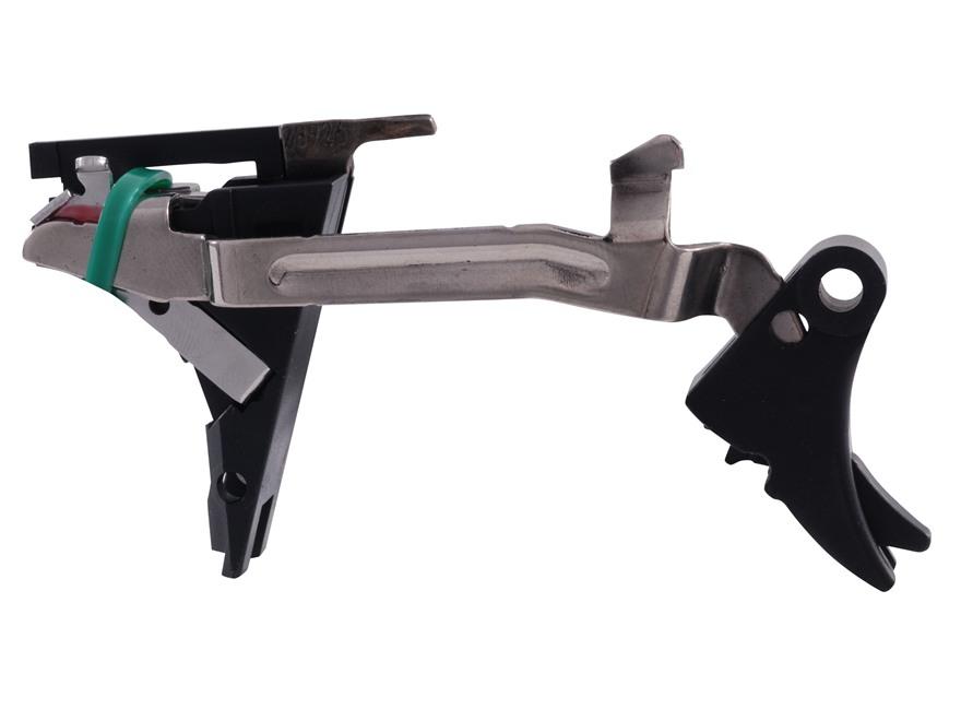 ZEV Technologies Fulcrum Drop-In Trigger Kit Glock Gen 4 357 Sig, 40 S&W Aluminum Black...