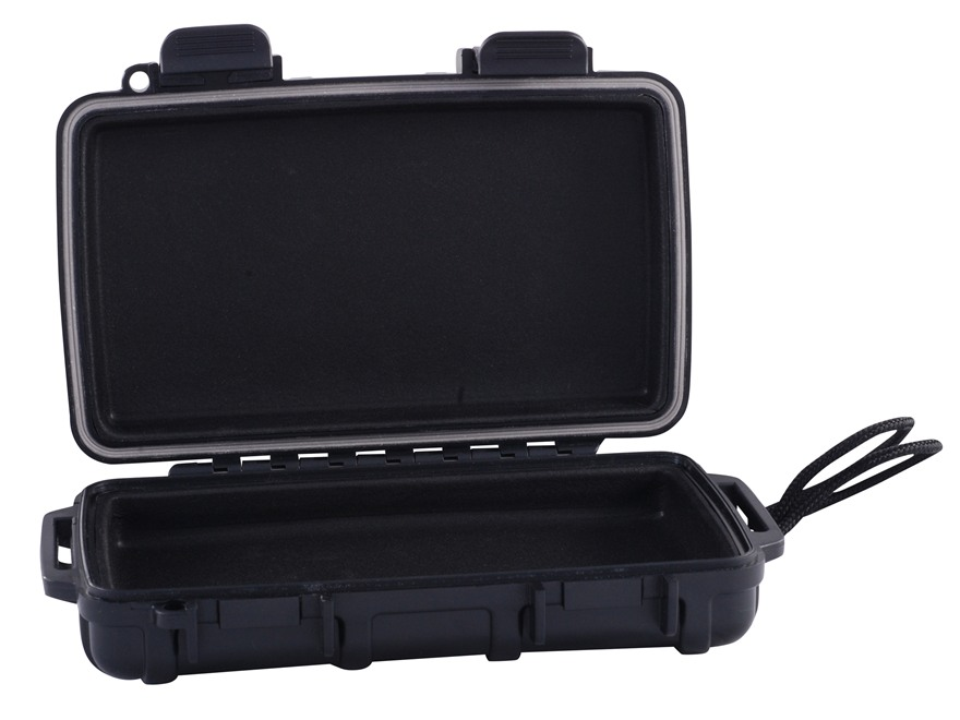 "Otterbox 2000 Waterproof Accessories Case with Liner 6.85"" x 4.57"" x 1.82"" Polymer Black"