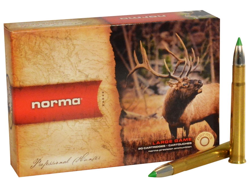 Norma USA American PH Ecostrike Ammunition 9.3x74mm Rimmed 225 Grain Tipped Boat Tail L...