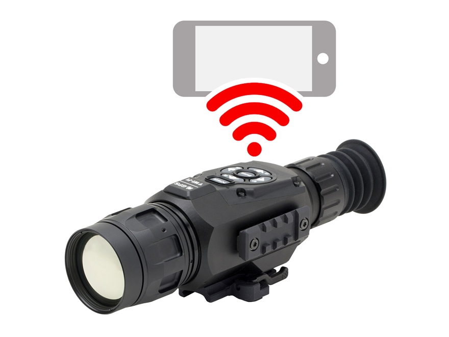 ATN ThOR HD Thermal Rifle Scope 4.5-18x 50mm 384x288 with HD Video Recording, Wi-Fi, GP...
