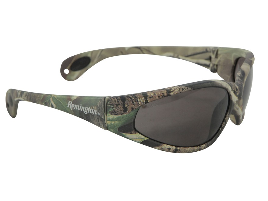 Remington T-70 Sunglasses Smoke Lens Realtree APG Camo Frames