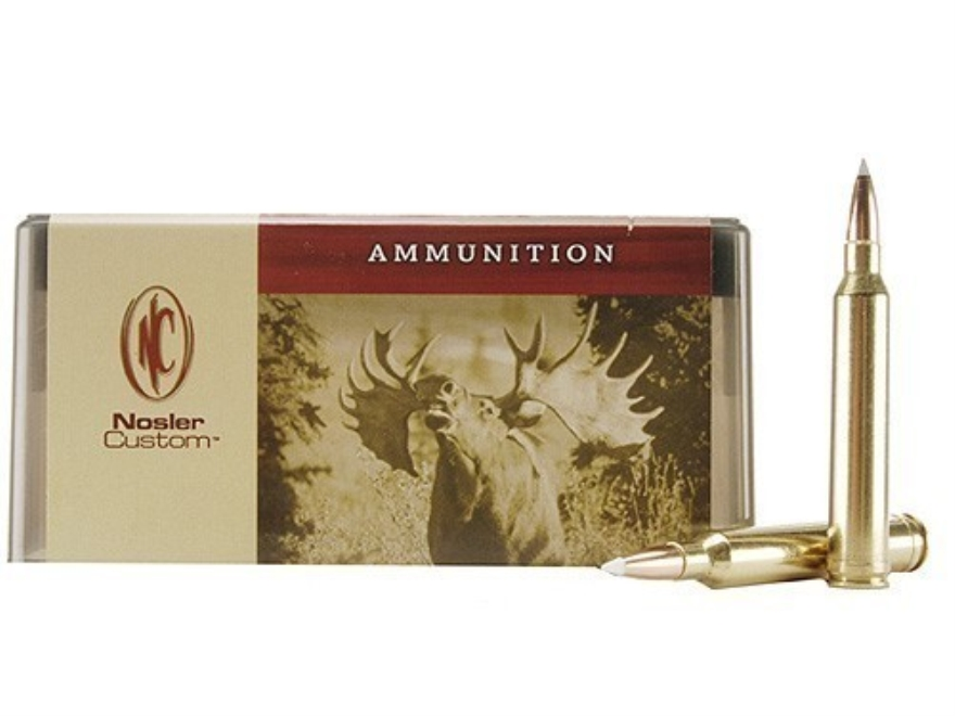 Nosler Custom Ammunition 7mm STW 140 Grain AccuBond Spitzer Box of 20