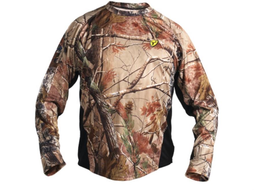 ScentBlocker Men's 8th Layer Base Layer Shirt Long Sleeve Polyester