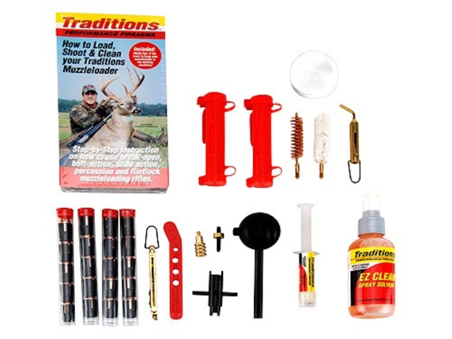 Traditions Sportsman's Package for 50 Caliber Black Powder Pellet Shooters