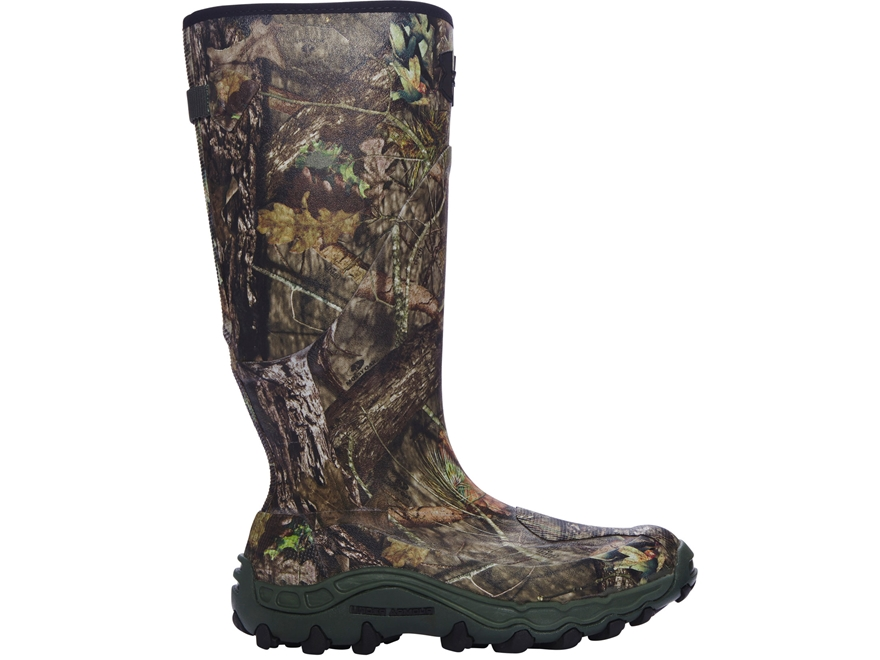 """Under Armour UA Haw'Madillo 16"""" Waterproof Uninsulated Hunting Boots Mossy Oak Break-Up..."""