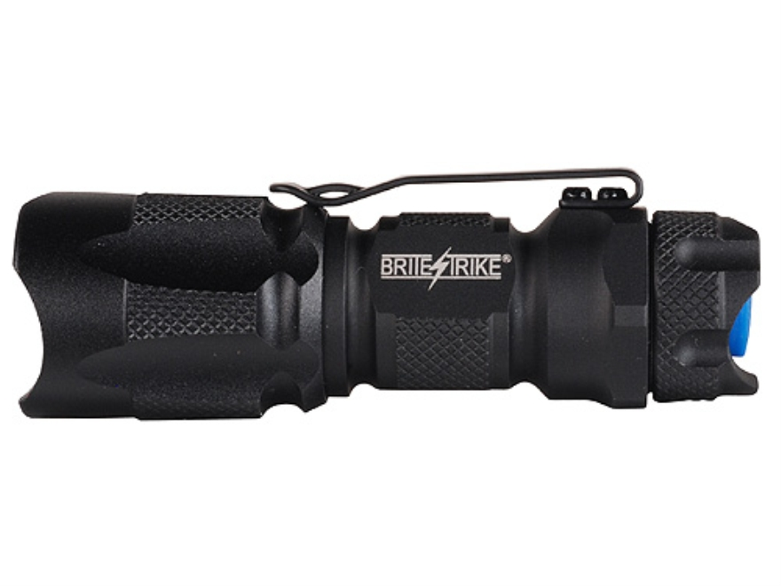 Brite Strike BD-180-MH-1C Flashlight LED with 1 CR123A Battery Aluminum Black