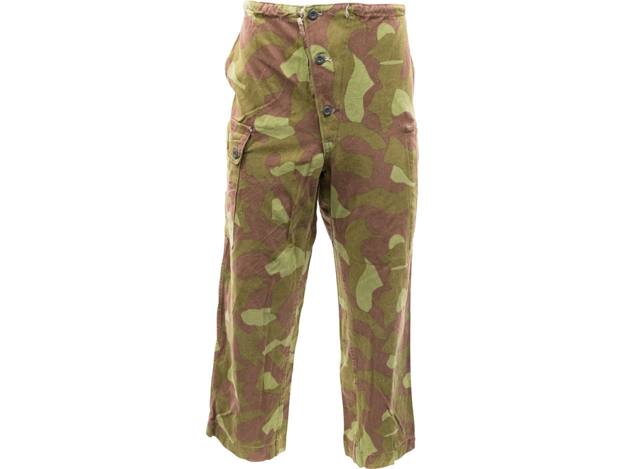 Military Surplus Finnish M62 Field Pants Camo