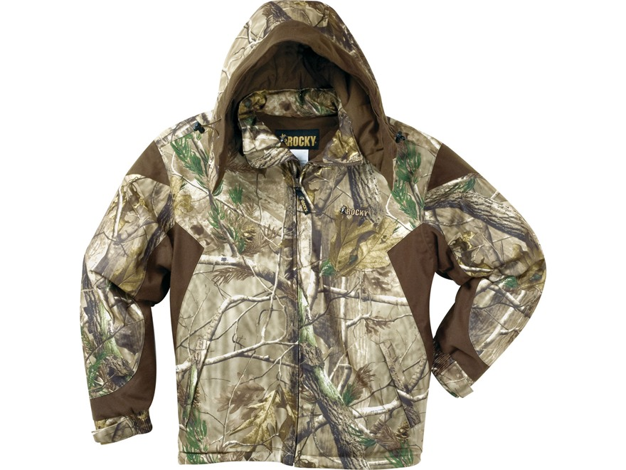 Rocky Men's ProHunter Waterproof Insulated Parka Polyester Realtree AP Camo Large 42-44