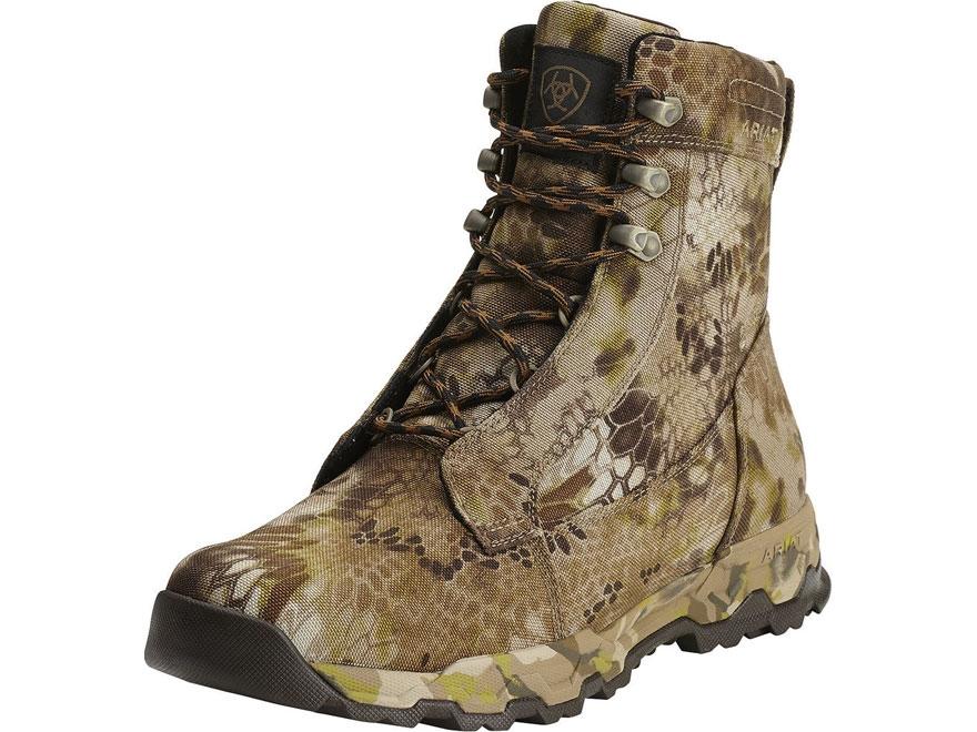"Ariat FPS 7"" H2O Waterproof 400 Gram Insulated Hunting Boots Nylon Kryptek Highlander C..."