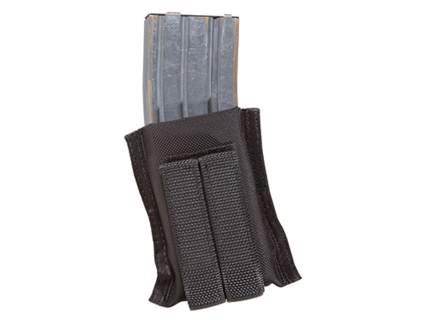 Tuff Products G.A.G Grab and Go Single AR-15 Magazine Pouch Belt or M.O.L.L.E. Nylon Black