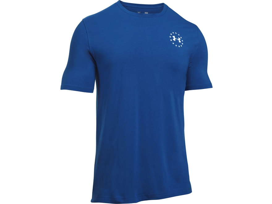 Under Armour Men's UA Freedom Flag T-Shirt Short Sleeve Charged Cotton