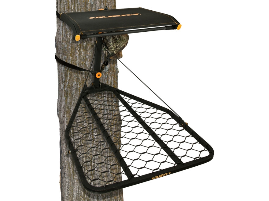 Muddy Outdoors Sportsman Hang on Treestand Steel Black