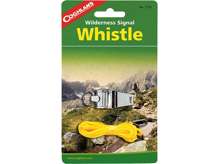 Coghlan's Wilderness Survival Whistle Steel