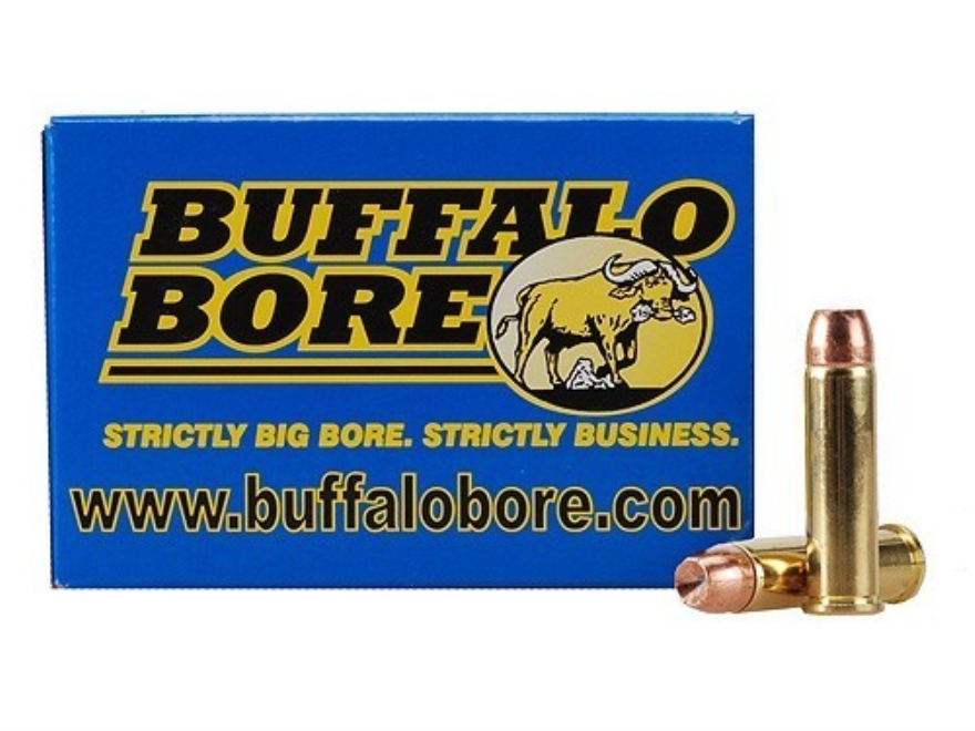 Buffalo Bore Ammunition 357 Magnum 158 Grain Jacketed Hollow Point Box of 20