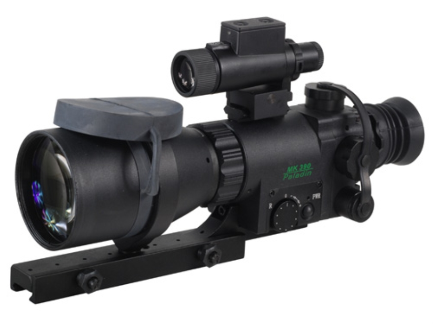 ATN Aries MK390 Paladin 1st Generation Night Vision Compact Rifle Scope 4x 90mm Illumin...