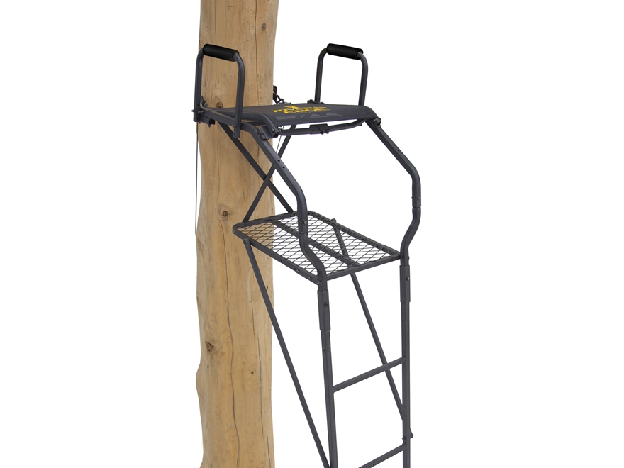 Rivers Edge Bowman Ladder Treestand Steel Gray