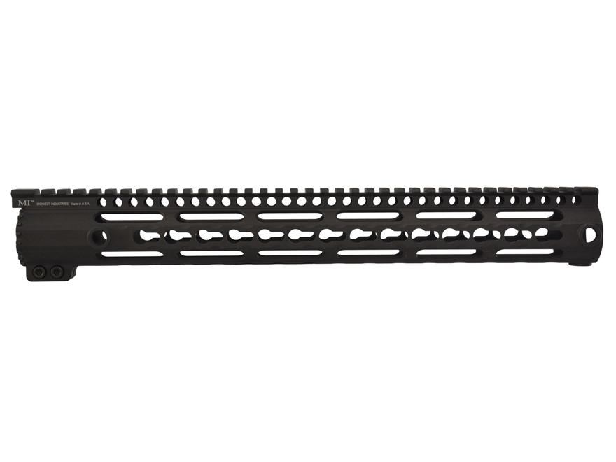 Midwest Industries SS-Series Free Float KeyMod Handguard DPMS GII Aluminum Black