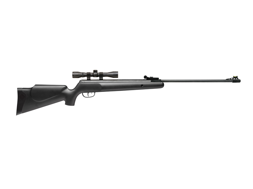Crosman Phantom Nitro Piston Break Barrel Air Rifle 22 Caliber Pellet Black Synthetic S...