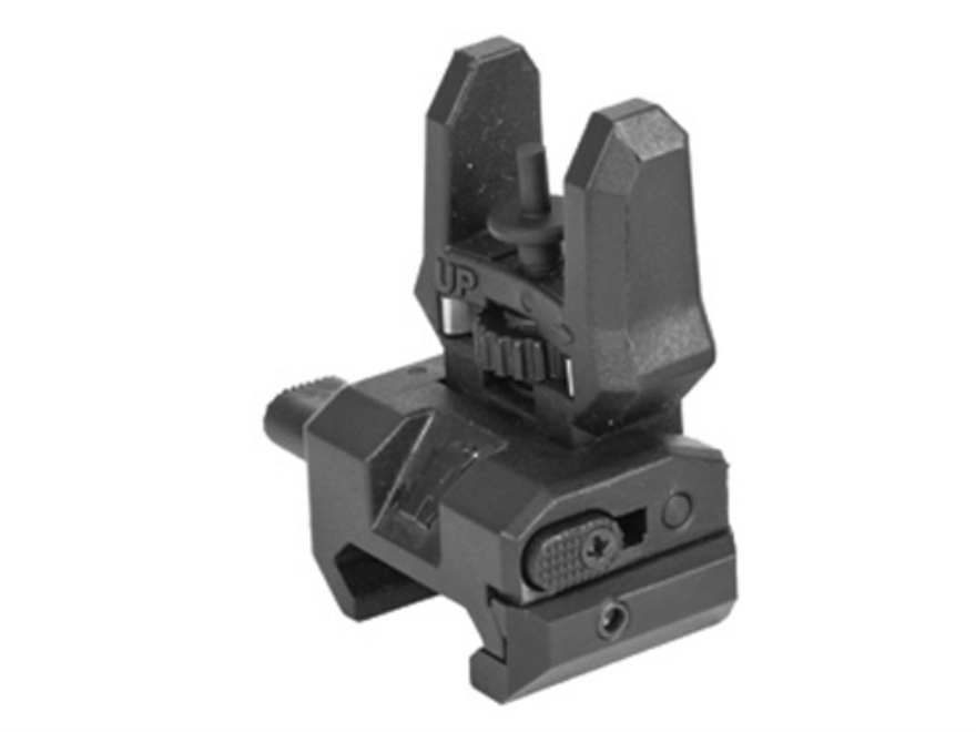 Command Arms Spring-Actuated Low Profile Flip-Up Front Sight Handguard Height AR-15 Pol...