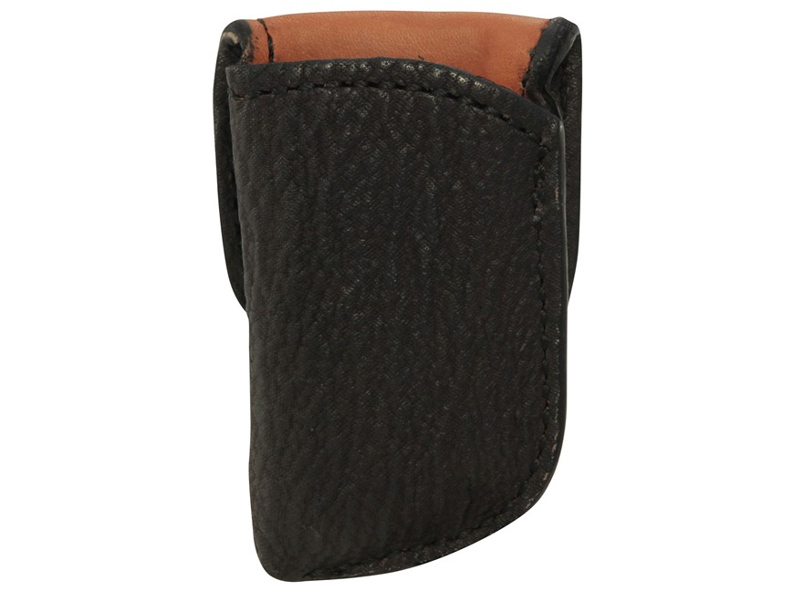 El Paso Saddlery Exotic 1F Single Magazine Pouch Single Stack 45 ACP Magazine Shark Brown