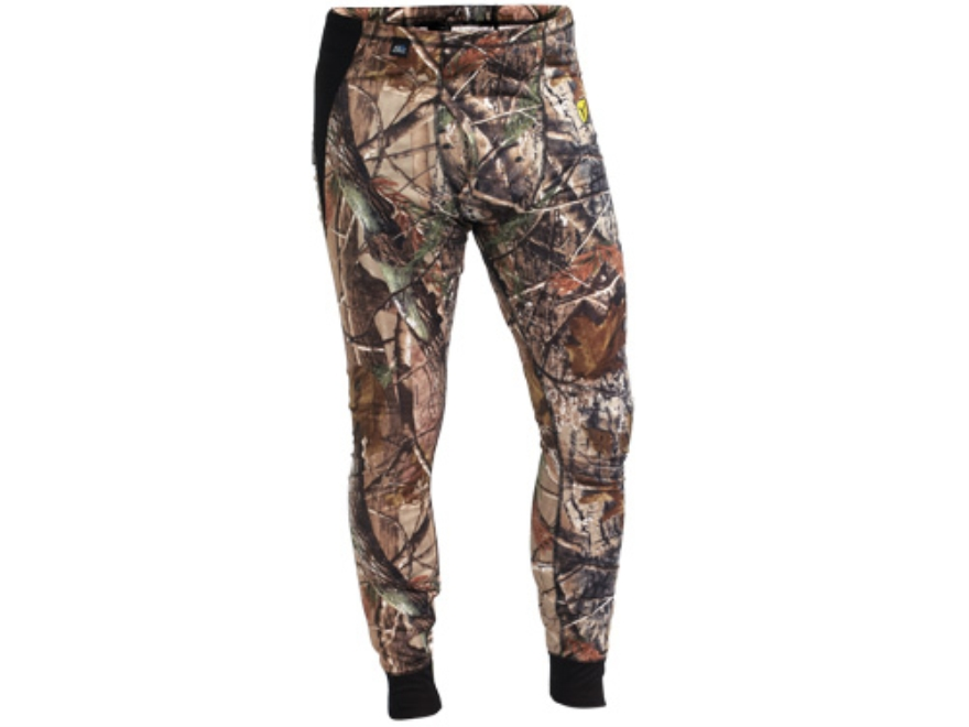 ScentBlocker Men's 8th Layer Base Layer Pants Polyester Realtree AP Camo Large 36-38 Wa...