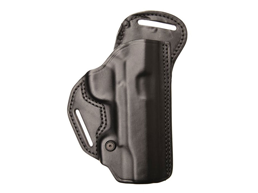 BLACKHAWK! Check-Six Belt Holster Leather Black