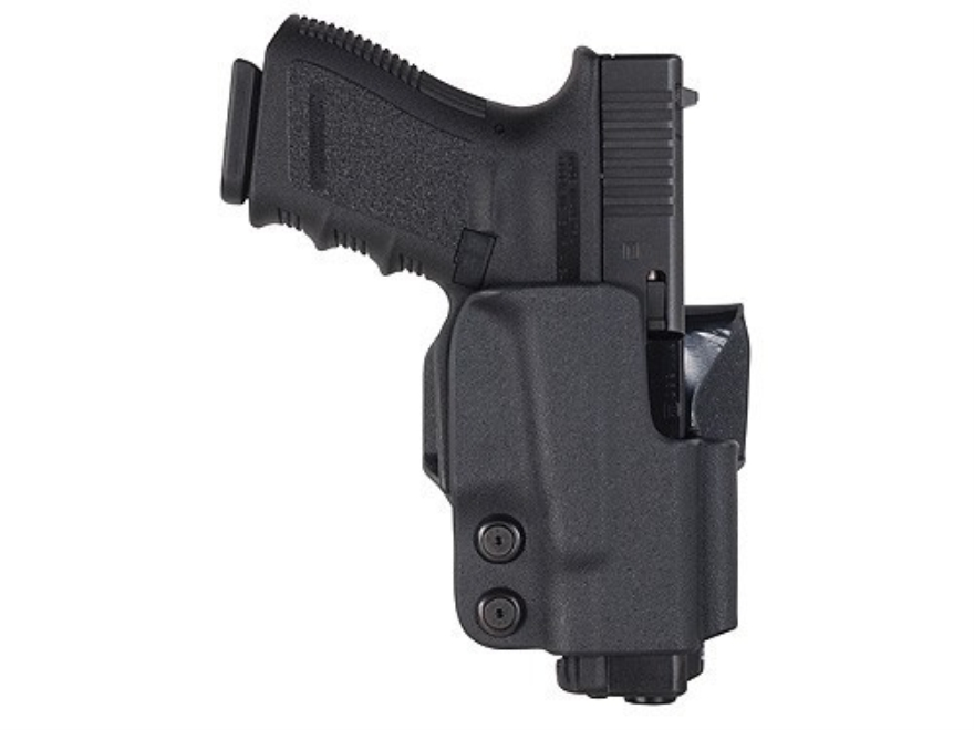 "Comp-Tac Belt Holster 1-1/2"" Belt Loop Right Hand Glock 9mm Luger, 40 S&W Kydex Black"