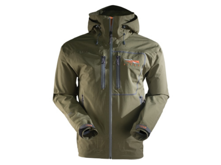 Sitka Gear Men's Stormfront Rain Jacket Polyester