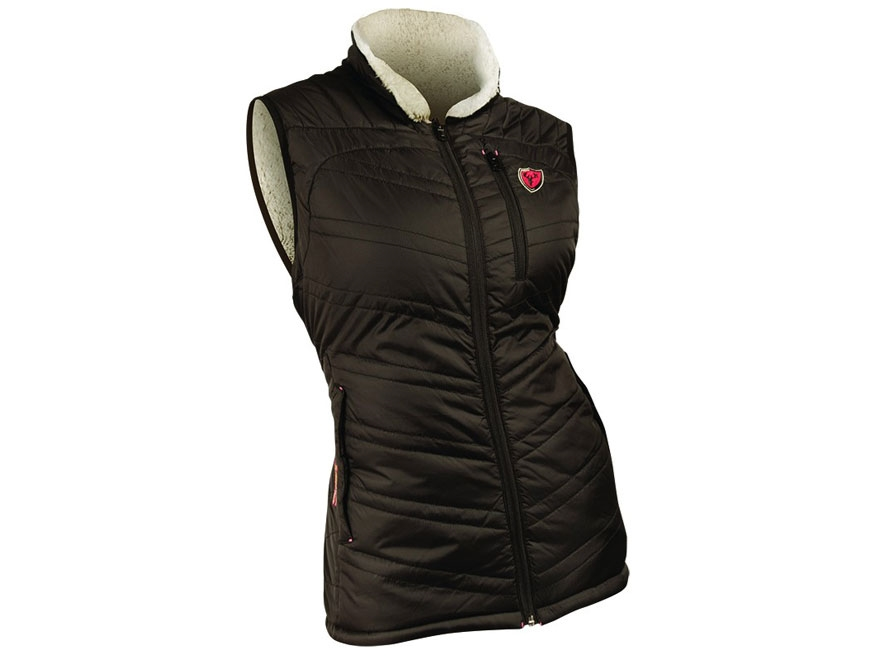 ScentBlocker Women's SOLA Variant Reversible Insulated Fleece Vest Polyester