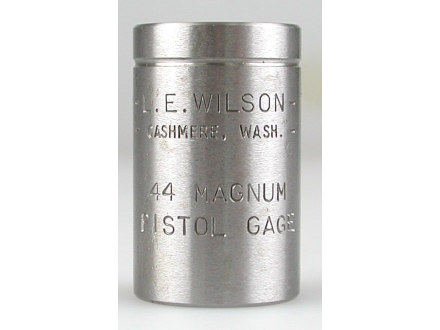L.E. Wilson Max Cartridge Gauge 44 Remington Magnum