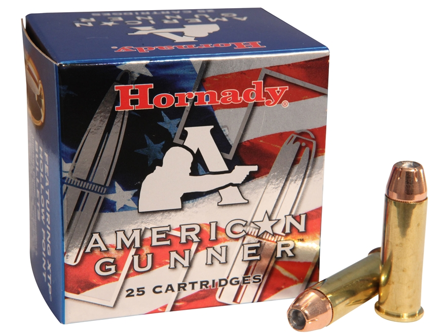 Hornady American Gunner Ammunition 38 Special 125 Grain XTP Jacketed Hollow Point Box o...