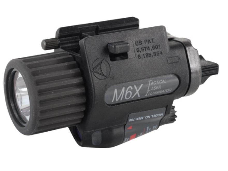 Insight Tech Gear M6X Tactical Illuminator Flashlight with Laser LED  Universal