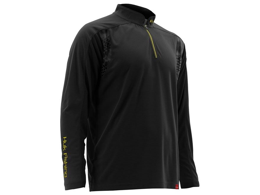 Huk Men's Trophy 1/4 Zip Shirt Long Sleeve Polyester