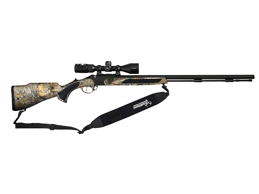 "Traditions Crush Vortek StrikerFire Muzzleloading Rifle 50 Caliber 28"" Nitride Barrel S..."