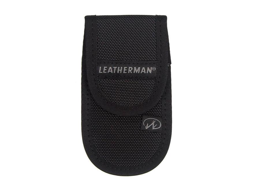 "Leatherman 4"" Nylon Standard Sheath Black"