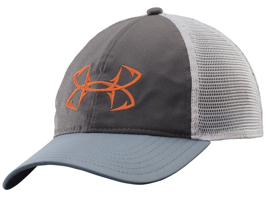 Under armour fish hook mesh back cap polyester mpn for Under armour fish hook