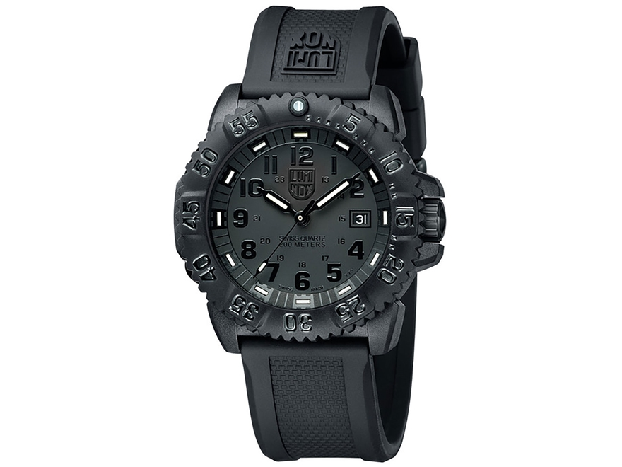 Luminox Navy SEAL Colormark Watch Black