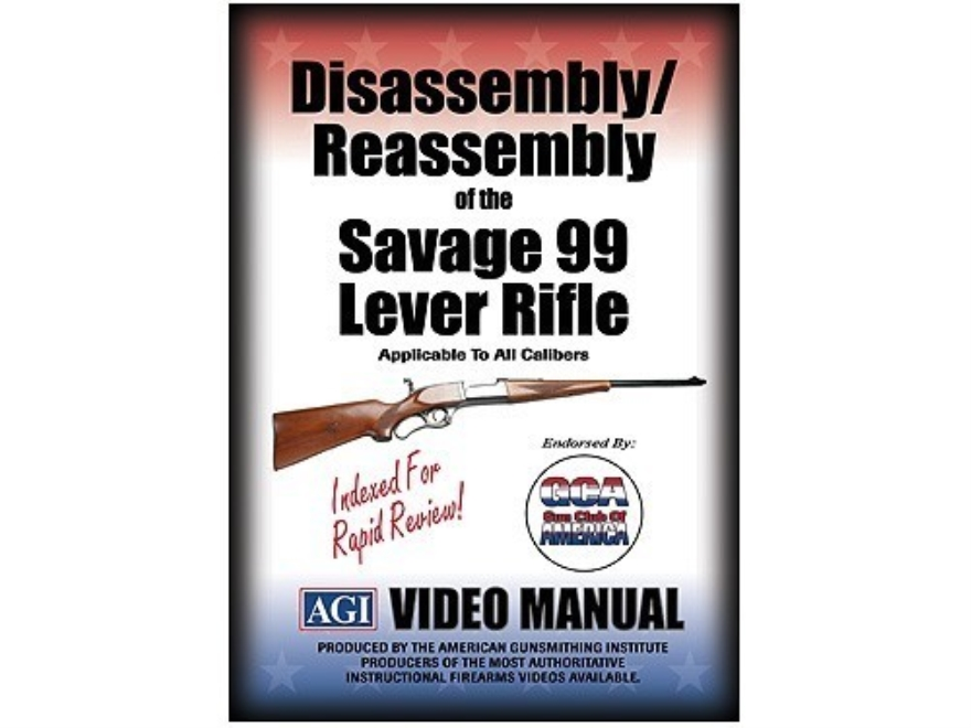 "American Gunsmithing Institute (AGI) Disassembly and Reassembly Course Video ""Savage Ar..."