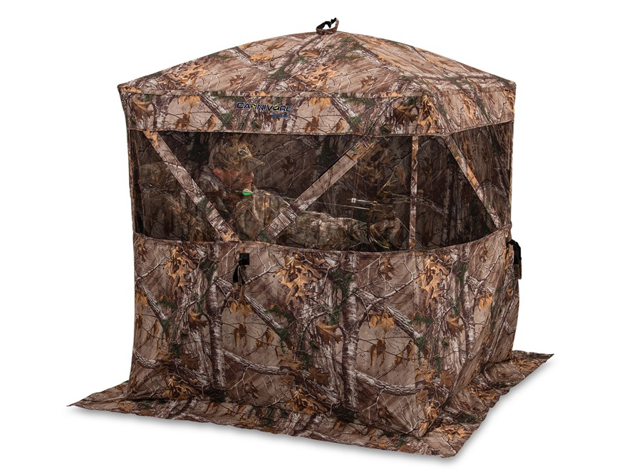 "Ameristep Carnivore Ground Blind 74"" x 74"" x 67"" Polyester Realtree Xtra Camo"