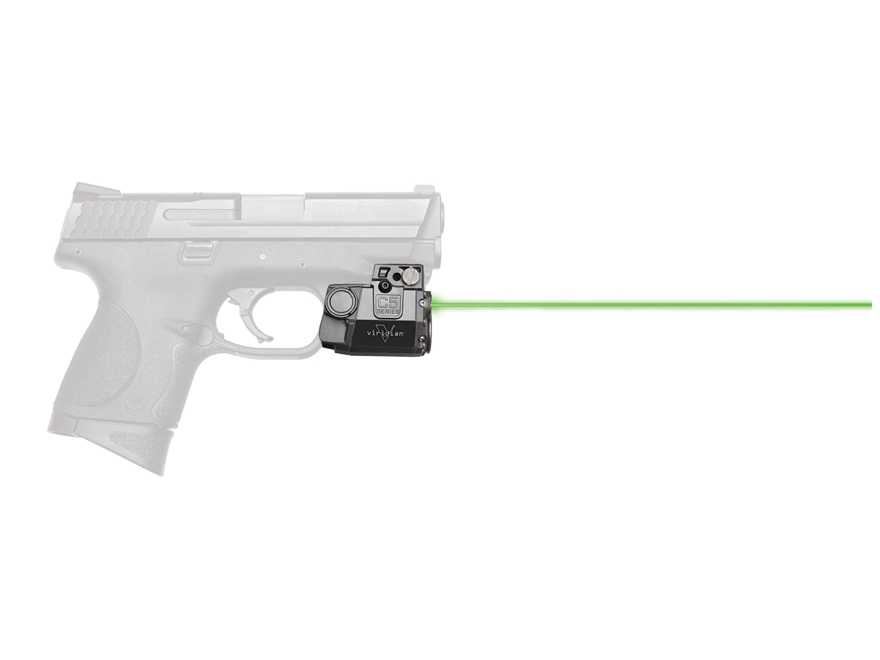 Viridian C5 Series 5mW Laser Sight Sub-Compact with Univeral Rail Mount Black