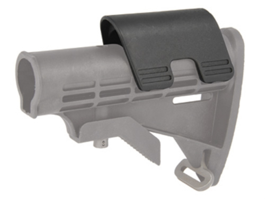 "Command Arms Snap On Cheek Piece for M4-Style Collapsible Stock .7"" Height Polymer Black"
