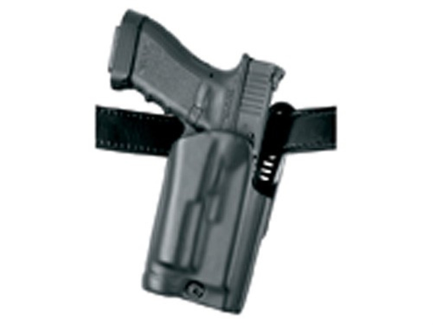 Safariland 5187 Holster Right Hand Glock 17, 19, 22, 23 with Rail Mounted Streamlight M...