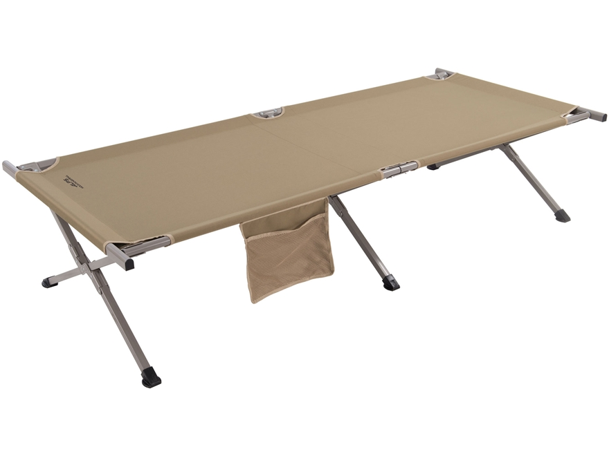 ALPS Mountaineering Camp Cot Aluminum and Polyester Tan Large